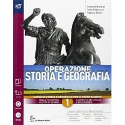 OPERAZIONE STORIA E GEOGRAFIA CLASSE 1 - LIBRO MISTO CON OPENBOOK VOLUME 1 + ATLANTE IERI E OGGI + E