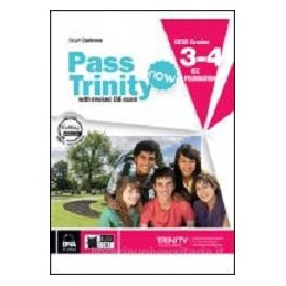PASS TRINITY NOW 3 - 4  + EASY BOOK  3 - 4 (SU DVD)  Vol. U