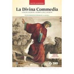 DIVINA COMMEDIA (LA) + DVD - NUOVA EDIZIONE INTEGRALE CON AUDIOLIBRO CON DVD LA SFIDA DI DANTE - GIO