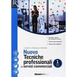 NUOVO TECNICHE PROFESSIONALI DEI SERVIZI COMMERCIALI 1 - LIBRO MISTO CON HUB VOL 1 + HUB LIBRO YOUNG