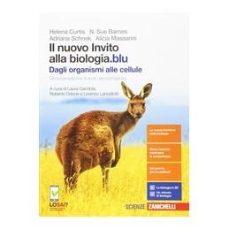 NUOVO INVITO ALLA BIOLOGIA.BLU (IL) - DAGLI ORGANISMI ALLE CELLULE (LDM) SECONDA EDIZIONE Vol. U