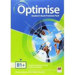 OPTIMISE B1+  - ITALY PACK STUDENT`S BOOK PREMIUM PACK-KEY + EBOOK + WORKBOOK-KEY Vol. U