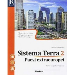 SISTEMA TERRA 2 - LIBRO MISTO CON HUB LIBRO YOUNG VOL PAESI EXTRAEUROPEI+HUB LIBRO YOUNG+HUB KIT Vol