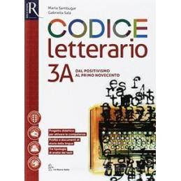 CODICE LETTERARIO 3 - LIBRO MISTO CON HUB LIBRO YOUNG VOL 3A + VOL 3B + PERCORSI + HUB LIBRO YOUNG +