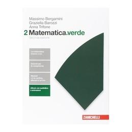 MATEMATICA.VERDE 2ED. - VOLUME 2 (LD)  Vol. 2