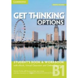GET THINKING OPTIONS B1 STUDENT`S BOOK/WORKBOOK+EBOOK+DIG Vol. U
