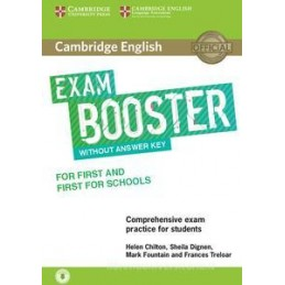 EXAM BOOSTER FIRST FOR SCHOOLS WITH AUDIO