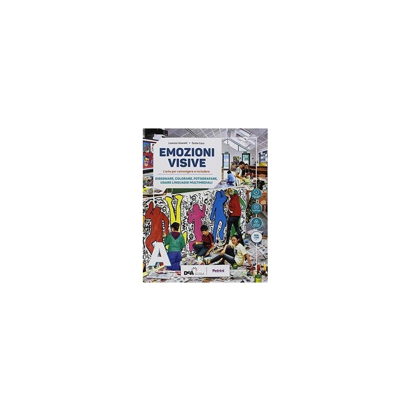 EMOZIONI VISIVE VOLUME A + VOLUME B1 + VOLUME B2 + EASY EBOOK (SU DVD) + EBOOK