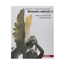 ITINERARIO NELL`ARTE 4A EDIZIONE VERSIONE VERDE - VOLUME 3 (LDM) DALL`ET