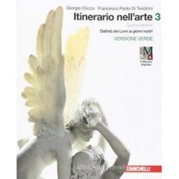 ITINERARIO NELL`ARTE 4A EDIZIONE VERSIONE VERDE - VOLUME 3 CON MUSEO (LDM) DALL`ET