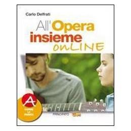 ALL`OPERA INSIEME ONLINE (A+B) +CD ROM