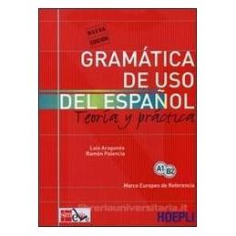 GRAMATICA DE USO DEL ESPANOL, GRAMATICA