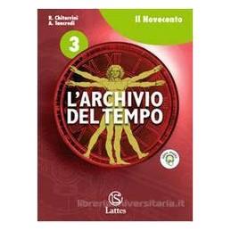 ARCHIVIO DEL TEMPO 3  NOVECENTO