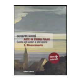ARTE IN PRIMO PIANO 3  RINASCIMENTO