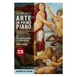 ARTE IN PRIMO PIANO 3  RINASC. MANIER.