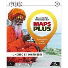 MAPS PLUS VOLUME 3+FASCICOLO 3+ATLANTE 3+PREPARAZIONE ESAME Vol. 3