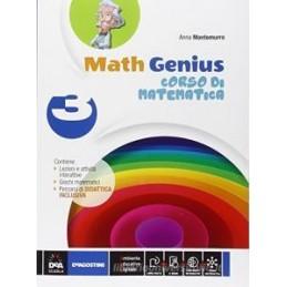 MATH GENIUS    VOLUME 3 + PALESTRA MATEMATICA 3 + EBOOK (ANCHE SU DVD)  Vol. 3