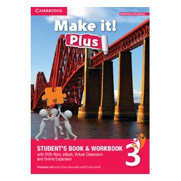 MAKE IT! LEVEL 3WITH EBOOK PLUS INVALSI COMPANION STUDENT