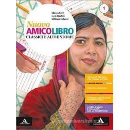 NUOVO AMICO LIBRO VOLUME 1 + EPICA + QUADERNO Vol. 1