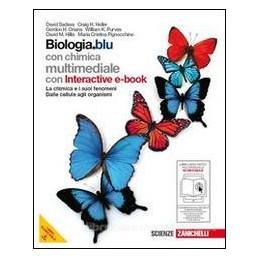 BIOLOGIA BLU  CHIMICA E SUOI FENOM.+EBOO