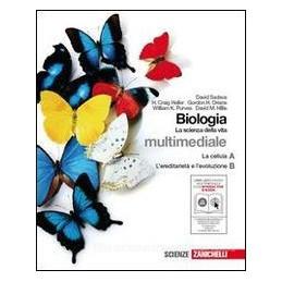 BIOLOGIA LA SCIENZA DELLA VITA A+B +CD R