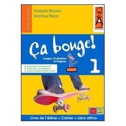 CA BOUGE! 1 +LIBRO ATTIVO +MAGAZ.+GRAMM.