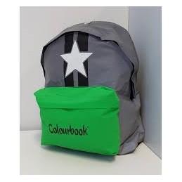 zaino-colourbook-americano-relfex-verde