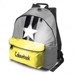zaino-colourbook-americano-relfex-giallo