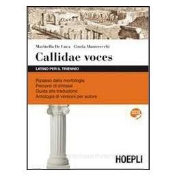 CALLIDAE VOCES X TR