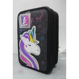 astuccio-young-people-3-zip-dream-unicorn-glitter-nero