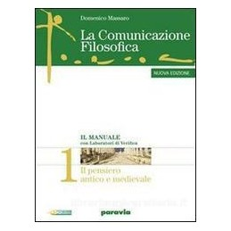 COMUNICAZIONE FILOSOFICA  1 +PENS.CRITIC