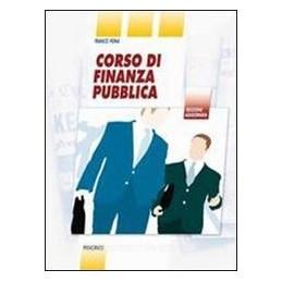 CORSO DI FINANZA PUBBLICA