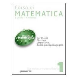 CORSO DI MATEMATICA 5 X TR LS,LL,SC.UM.