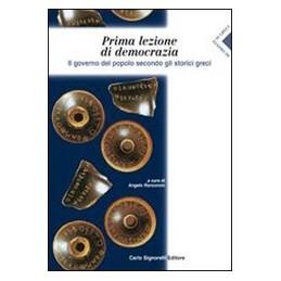 PRIMA LEZIONE DI DEMOCRAZIA