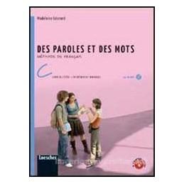 DES PAROLES ET DES MOTS C +ENTRAINEMENT