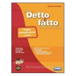 NUOVO DETTO E FATTO ED.MISTA (5 TOMI)+CD