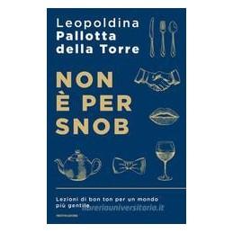 non-e-per-snob