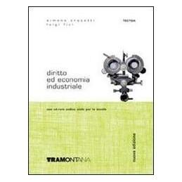 DIRITTO ED ECONOMIA INDUSTRIALE +CD X4,5