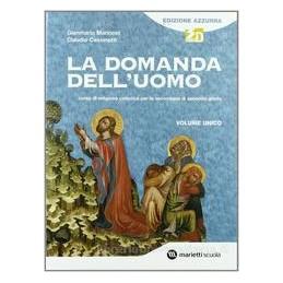 DOMANDA DELL`UOMO (EDIZ.AZZURRA)