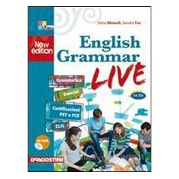 ENGLISH GRAMMAR LIVE A1 B2 +CD ROM