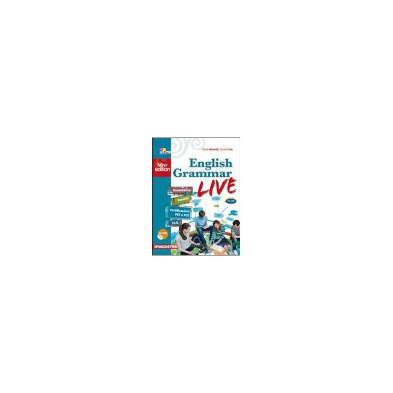 ENGLISH GRAMMAR LIVE A1 B2 +CD ROM