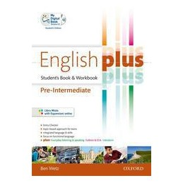 ENGLISH PLUS PRE INTERMEDIATE +EC +CD