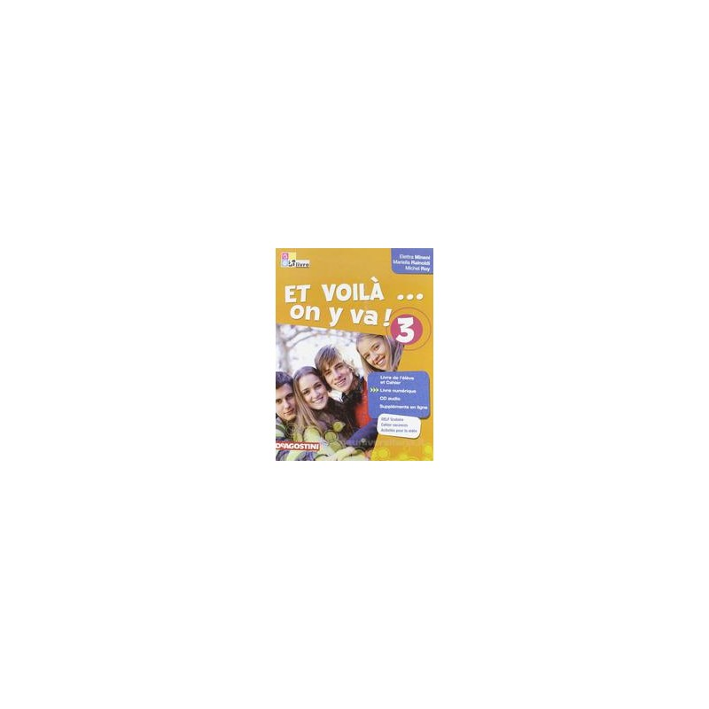 ET VOILA`... ON Y VA! 3 +CD +LIVRE NUMER