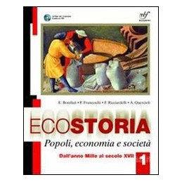 ECOSTORIA POPOLI ECONOMIA E SOCIETÀ 1+CD