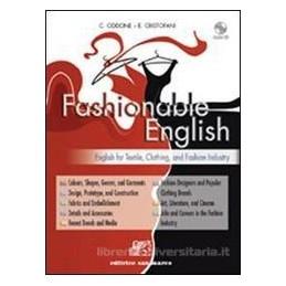 FASHIONABLE ENGLISH  FOR TEXTILE CLOTHIN