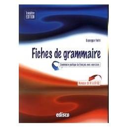 FICHES DE GRAMMAIRE  3 EDIZ.