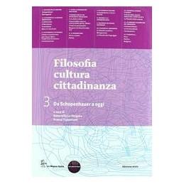 FILOSOFIA CULTURA CITTADINANZA 3 +FASC.