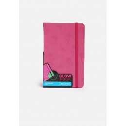 notebook-carnet-mustard-medio-globook-tropical-magenta
