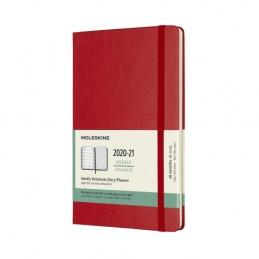 agenda-settimanale-18-mesi-moleskine-202021-con-spazio-per-note-cop-rigida-rossa-13x21cm