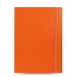 notebook-a-quadretti-filofax-a4-copertina-arancione
